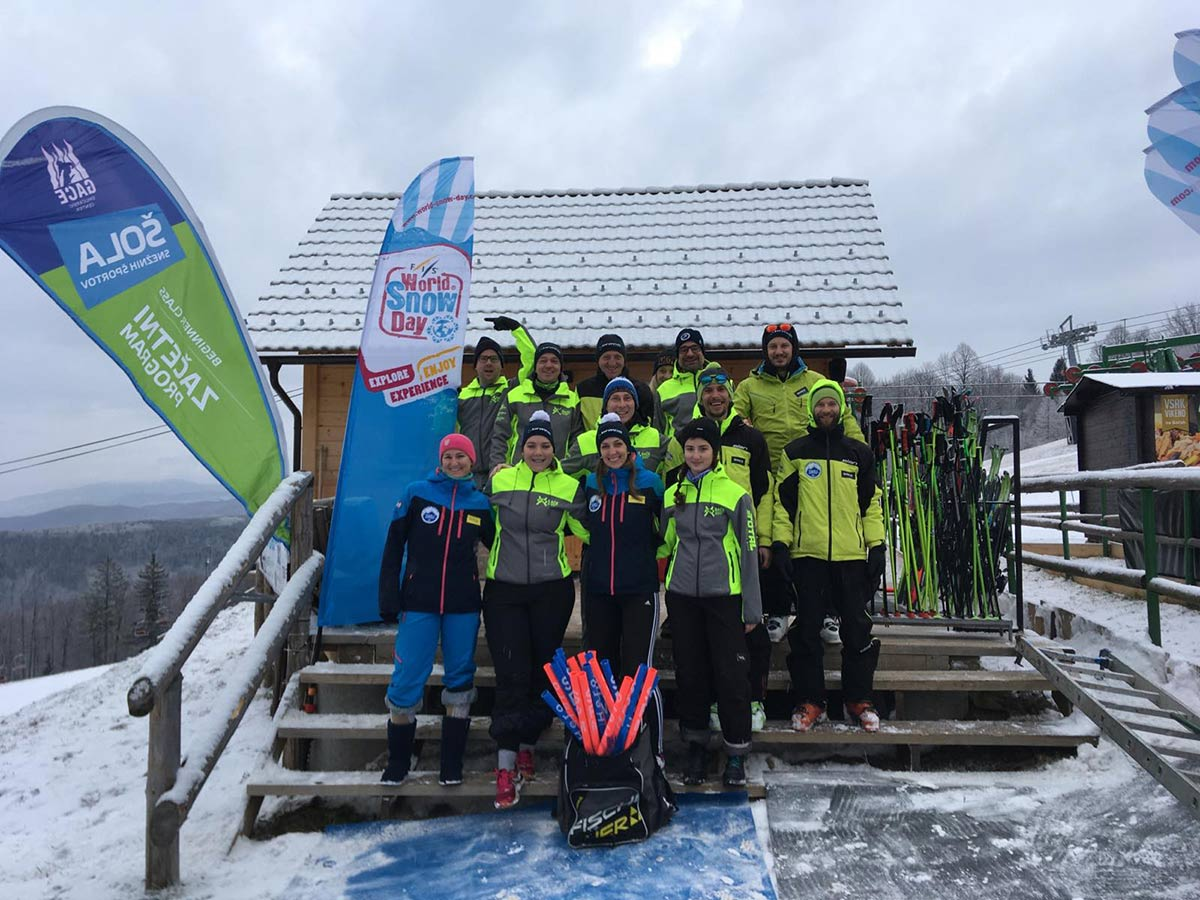 Prvi World Snow Day Gače 2020